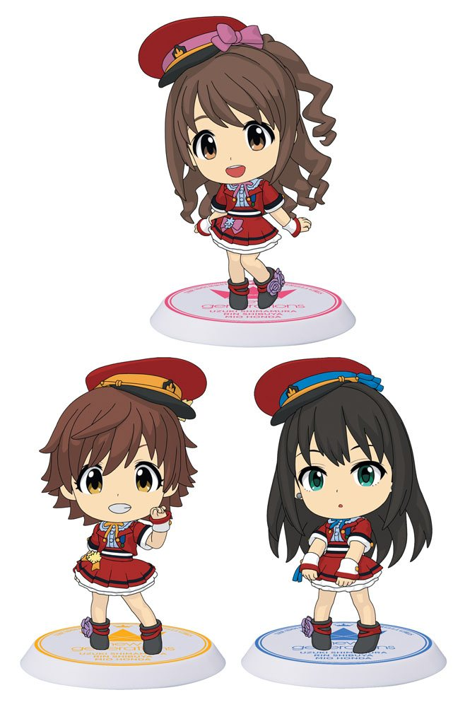 The Idolmaster Cinderella Girls ChiBi Figures 6 cm Assortment Evo! Revo! Generation (10)