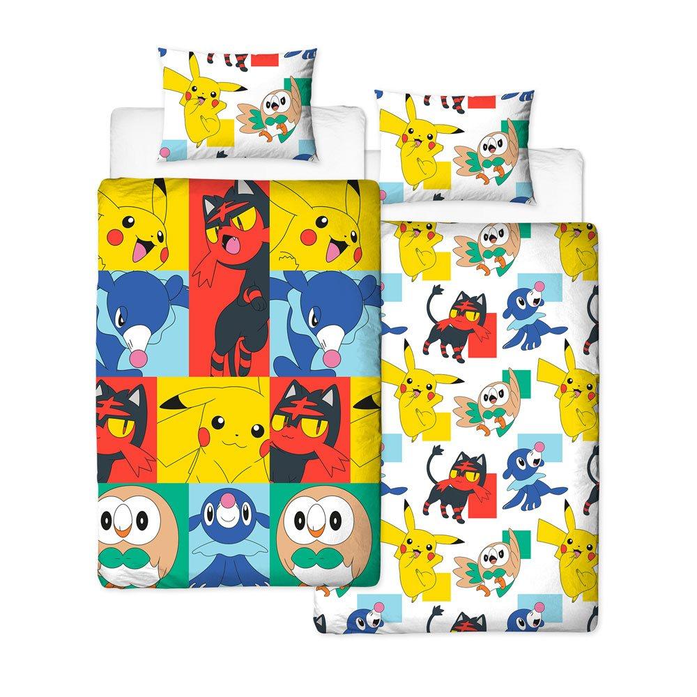Pokemon Duvet Set Reversible Newbies 135 x 200 cm / 48 x 74 cm