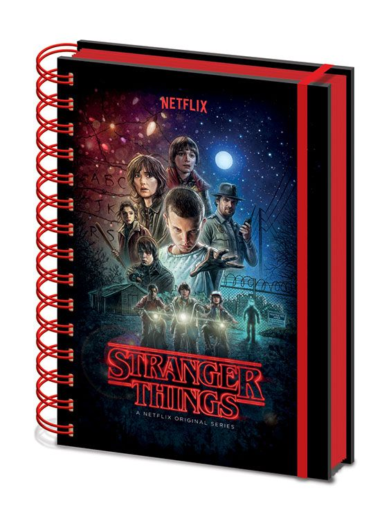 Stranger Things Wiro Notebook A5 One Sheet