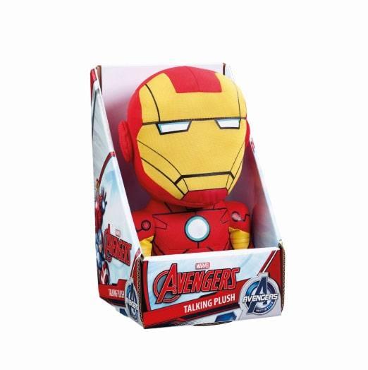 Marvel Talking Plush Figure Iron Man 23 cm *English Version*