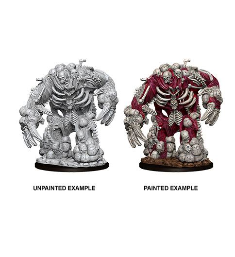 Pathfinder Battles Deep Cuts Unpainted Miniature Bone Golem Case (6)