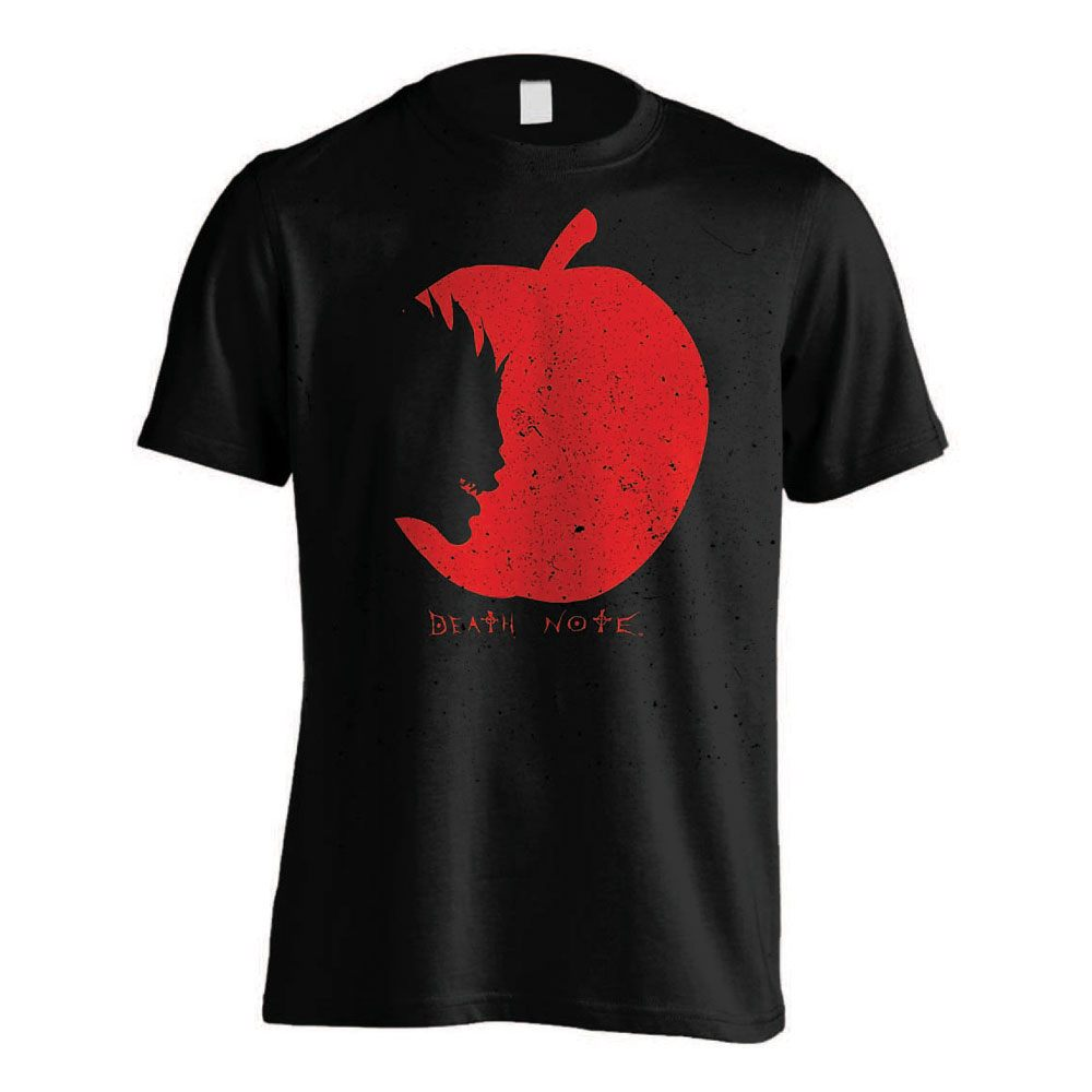 Death Note T-Shirt Ryuks Apple Size L