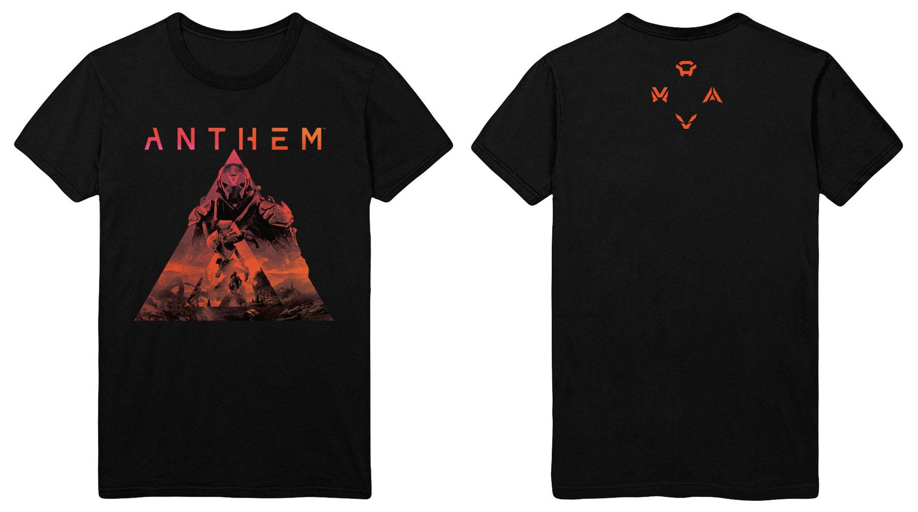 Anthem T-Shirt Key Art Size L