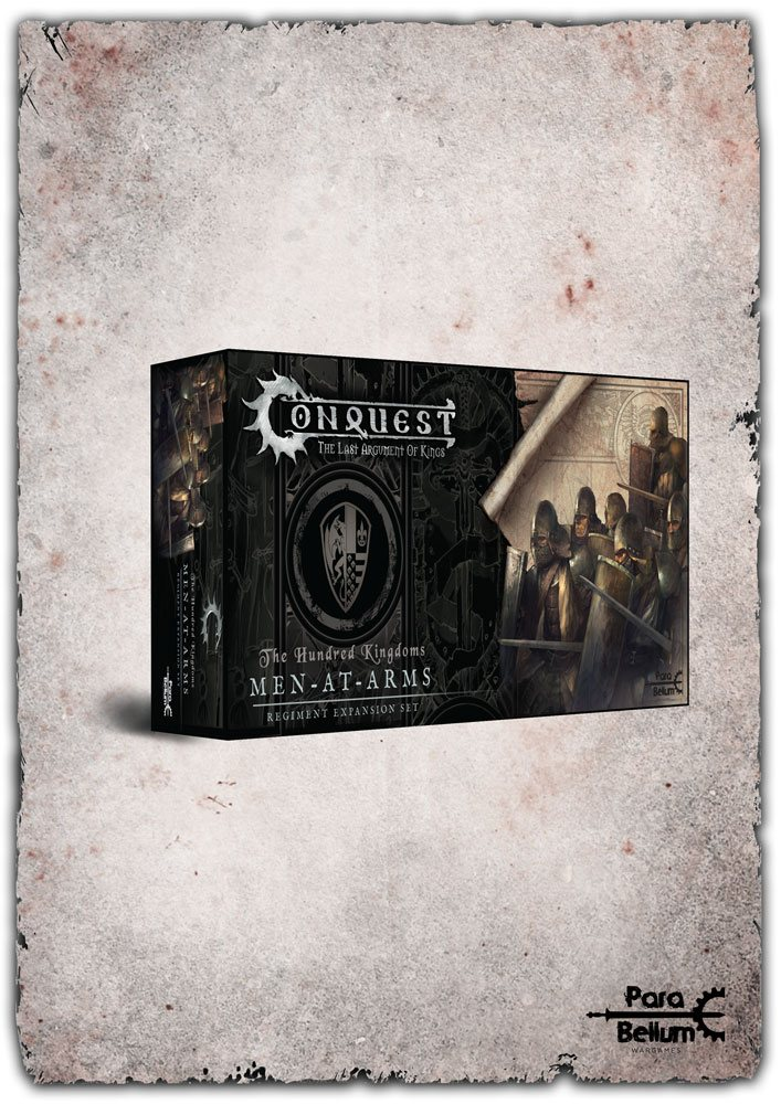 Conquest: The Last Argument of Kings Miniatures 12-Pack Hundred Kingdoms: Men at Arms