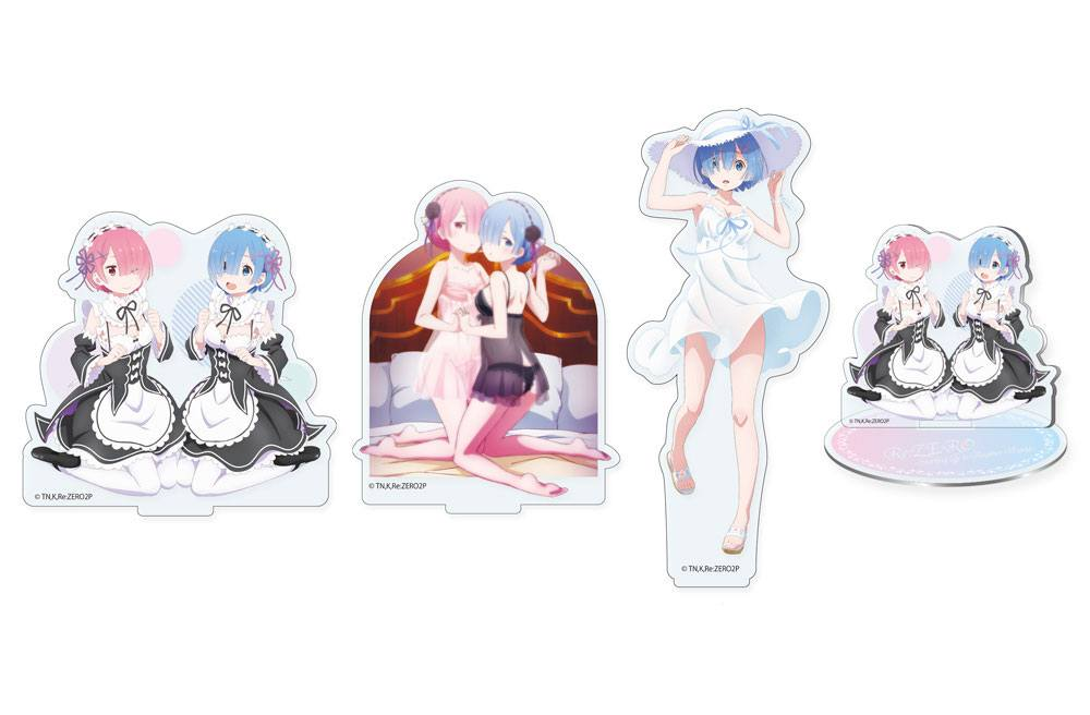 Re:ZERO -Starting Life in Another World- Acrylic Figure 3-Pack