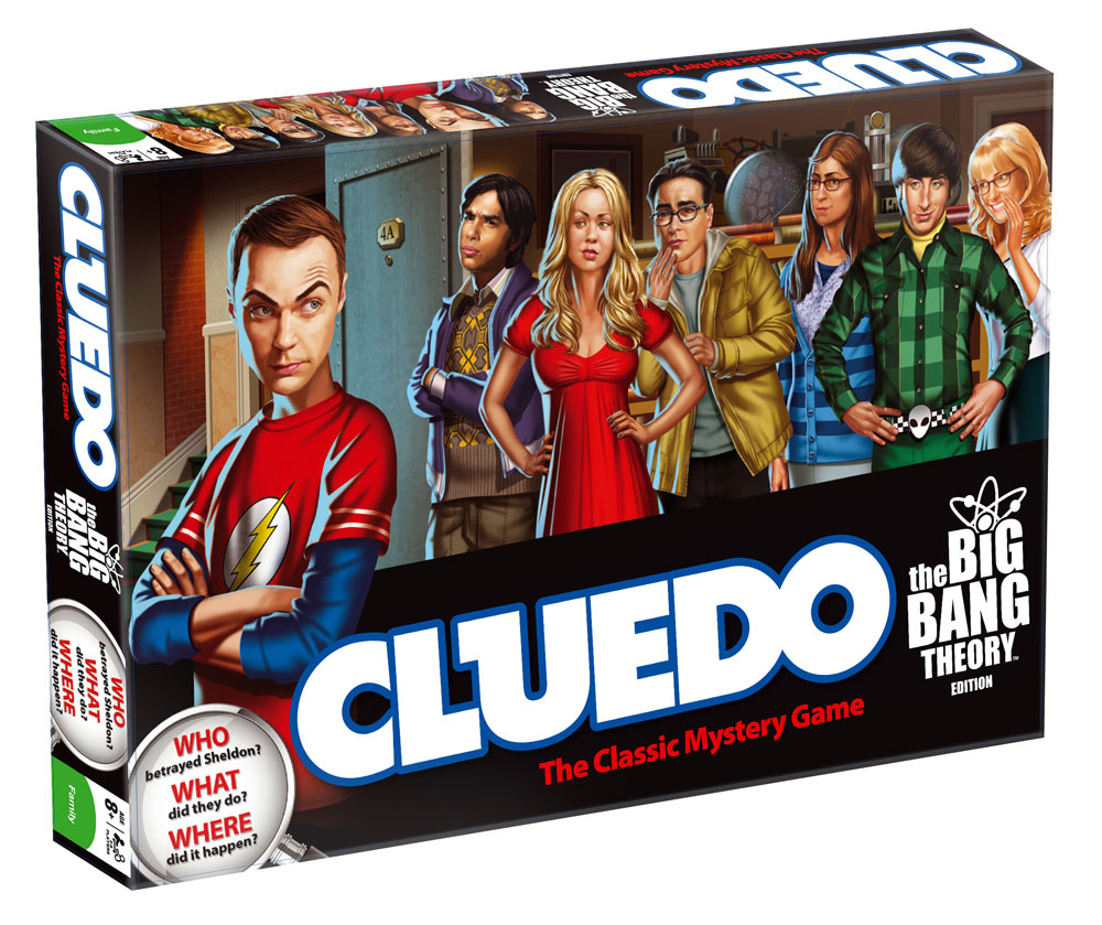 The Big Bang Theory Board Game Cluedo *English Version*