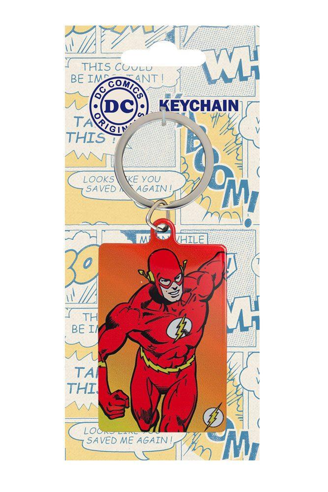 DC Comics Metal Keychain Flash 6 cm