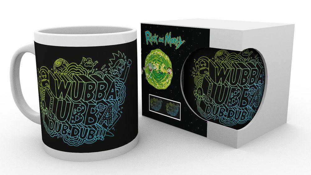 Rick and Morty Mug Wubba Lubba Dub-Dub heo Exclusive