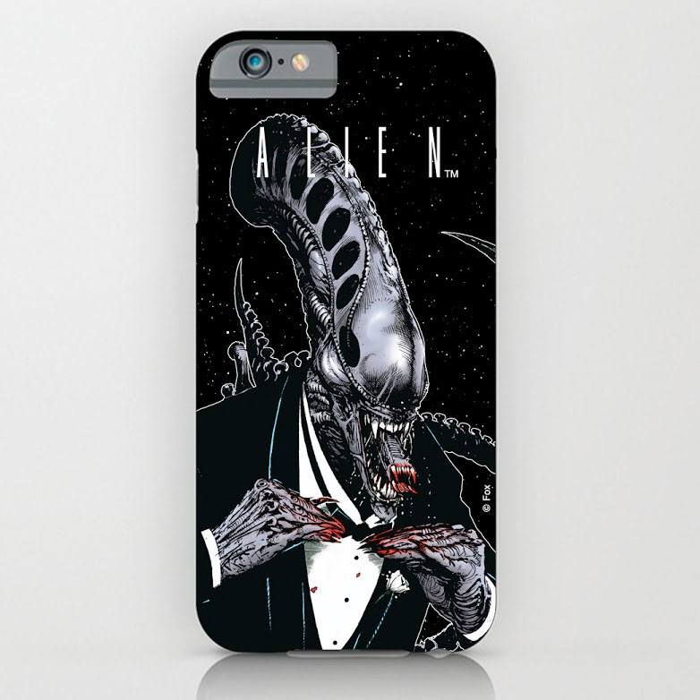 Alien iPhone 6 Plus Case Tuxedo