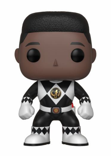 Power Rangers POP! TV Vinyl Figure Black Ranger (No Helmet) 9 cm