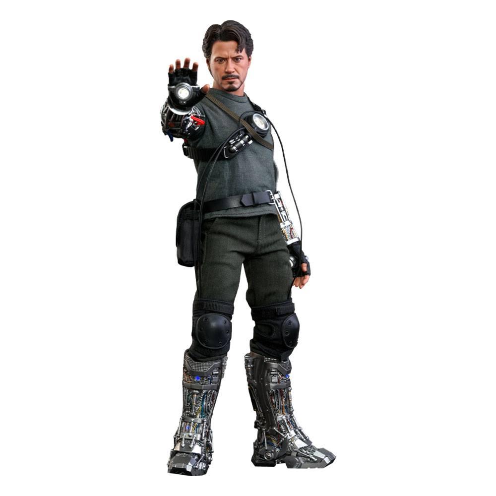 Iron Man Movie Masterpiece Action Figure 1/6 Tony Stark (Mech Test Deluxe Version) 30 cm
