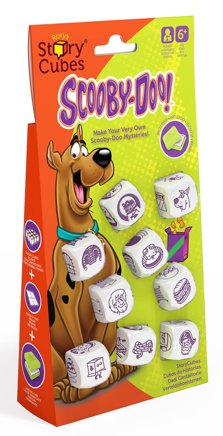 Scooby Doo Dice Game Rory's Story Cubes Storyworlds
