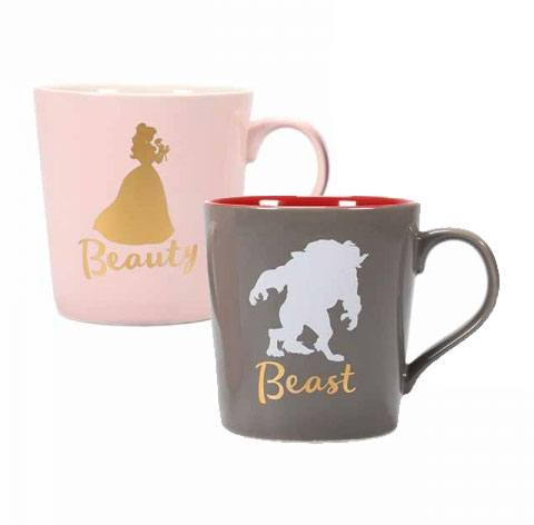 Beauty and the Beast Mug 2-Pack Beauty & Beast