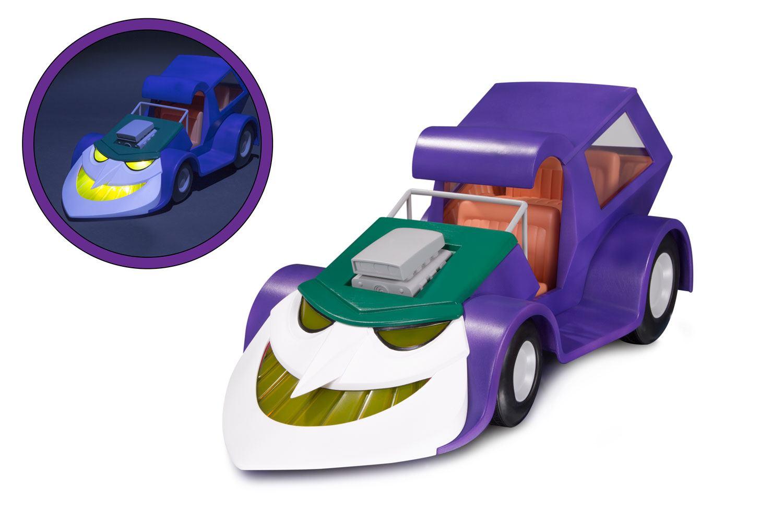 Batman The Animated Series Light Up Vehicle Jokermobile 20 cm