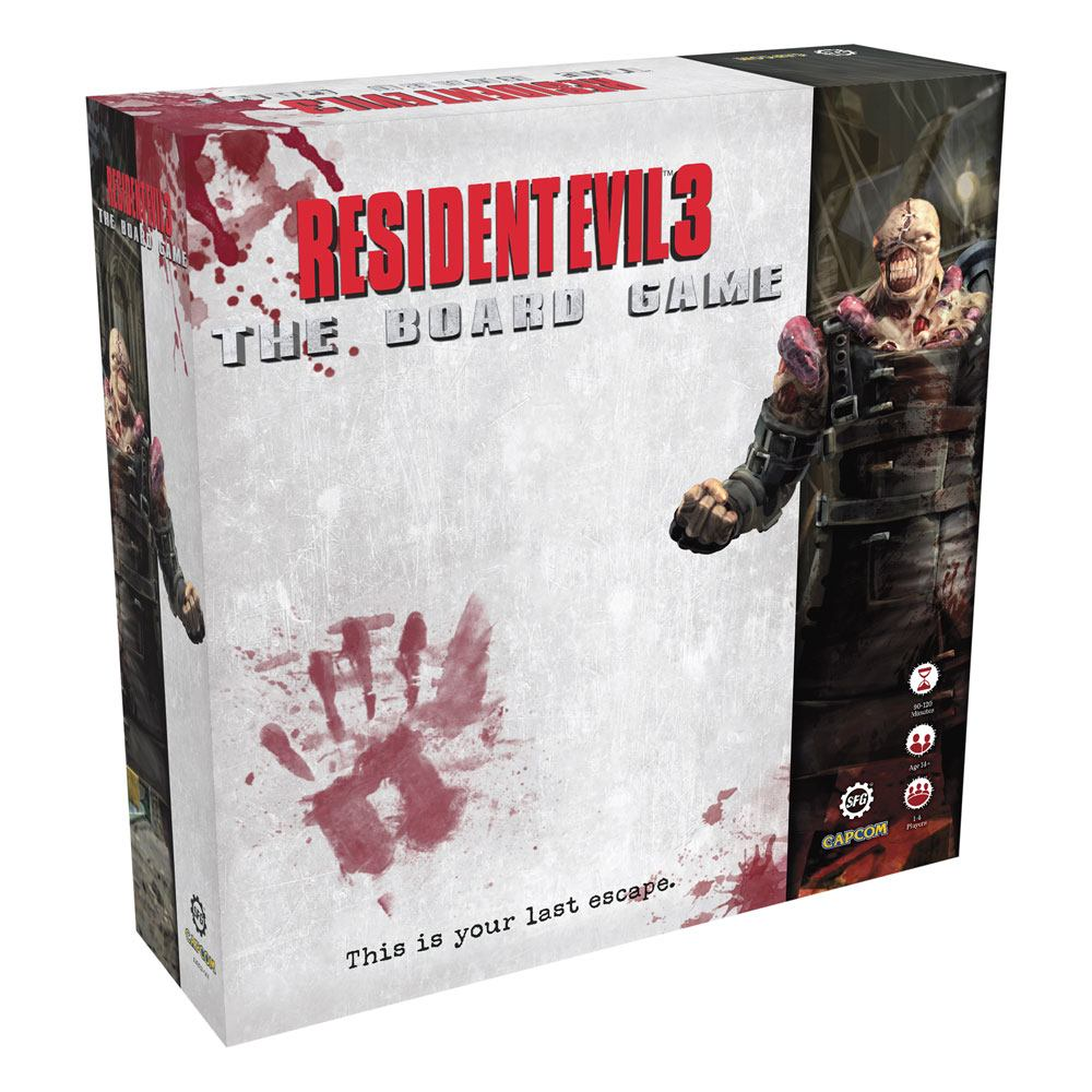 Resident Evil 3 The Board Game *English Version*
