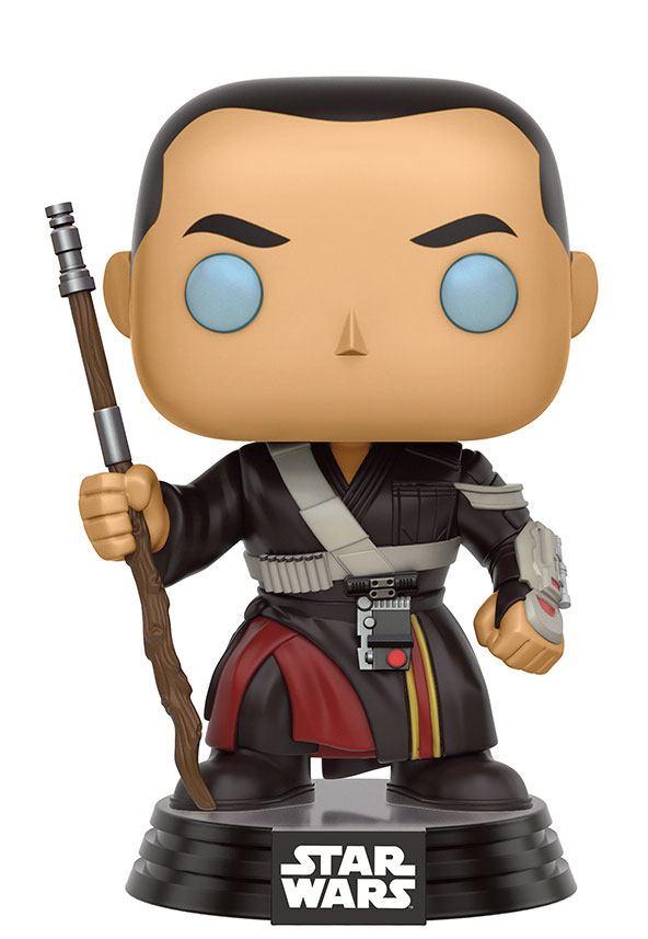 Star Wars Rogue One POP! Vinyl Bobble-Head Figure Chirrut Imwe 9 cm