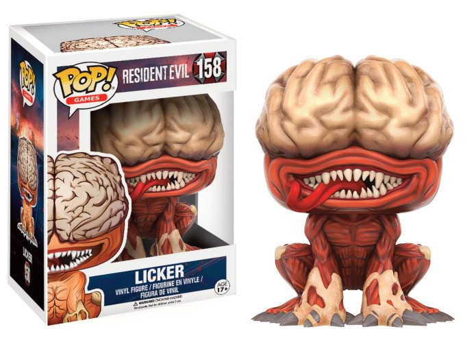 Resident Evil POP! Games Vinyl Figure Licker 9 cm