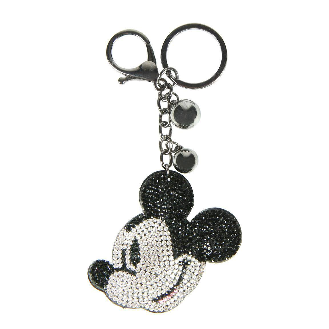 Disney 3D Acrylic Keychain Mickey Mouse Face