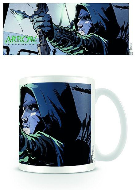 Arrow Mug Comic Strip