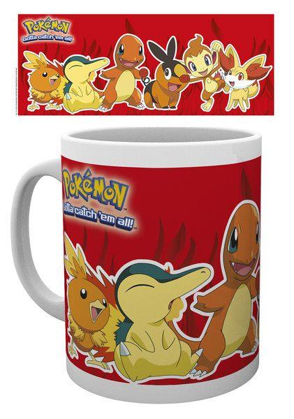 Pokemon Mug Fire Partners