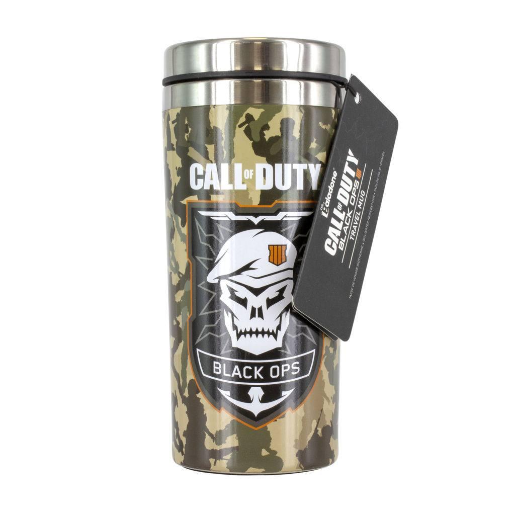 Call of Duty Black Ops 4 Travel Mug Skull
