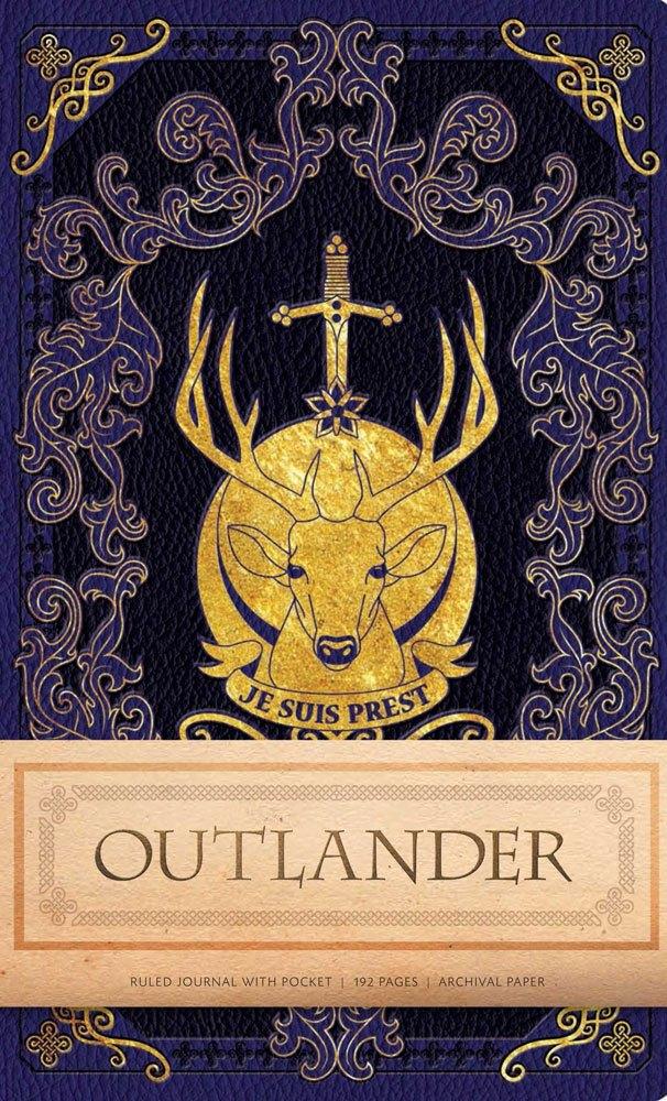 Outlander Hardcover Ruled Journal Logo