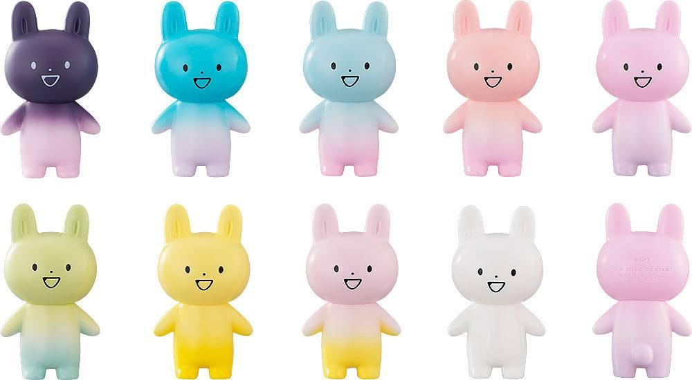 Zettai ni Kowarenai Tomodachi wo Kudasai Mini Figures 9-Pack Rabbit-Type UMA Ogakuzu 10 cm