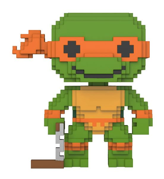 Teenage Mutant Ninja Turtles POP! 8-Bit Vinyl Figure Michelangelo 9 cm