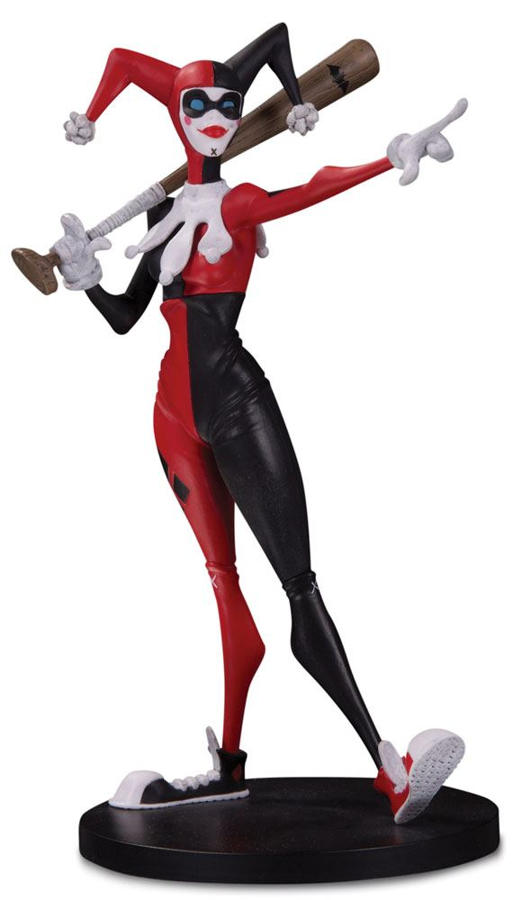 DC Artists Alley Statue Harley Quinn by Hainanu Nooligan Saulque 17 cm