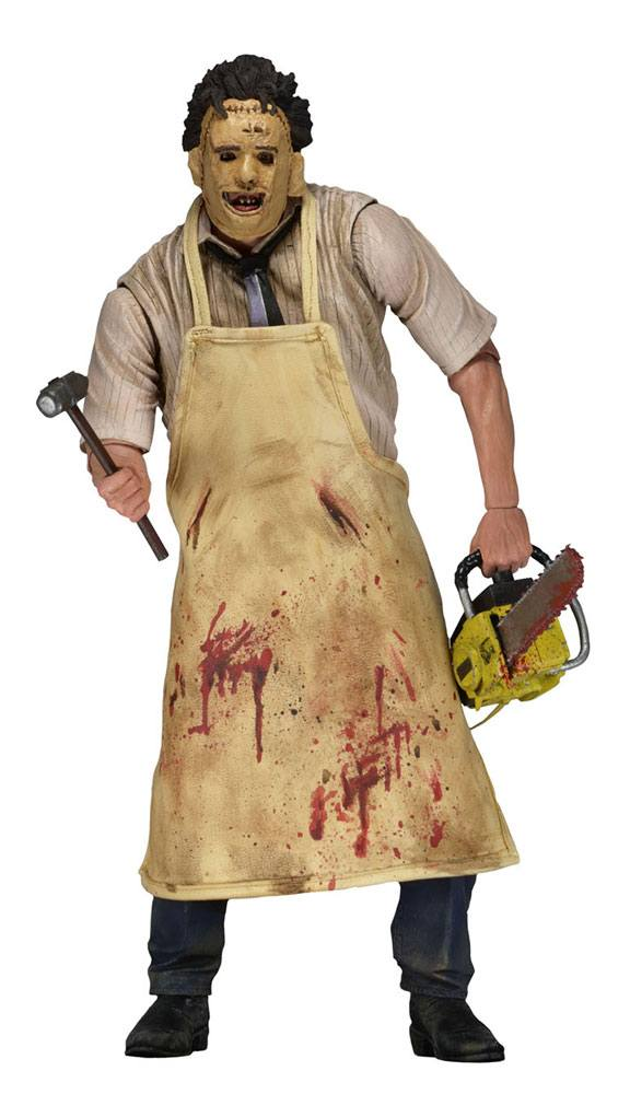 Texas Chainsaw Massacre Retro Action Figure 40th Anniversary Ultimate Leatherface 18 cm
