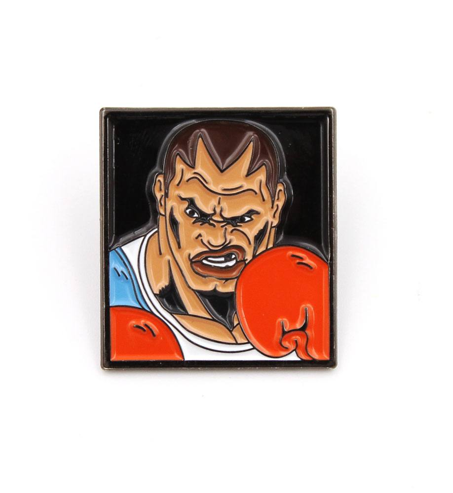 Street Fighter Pin Badge Balrog