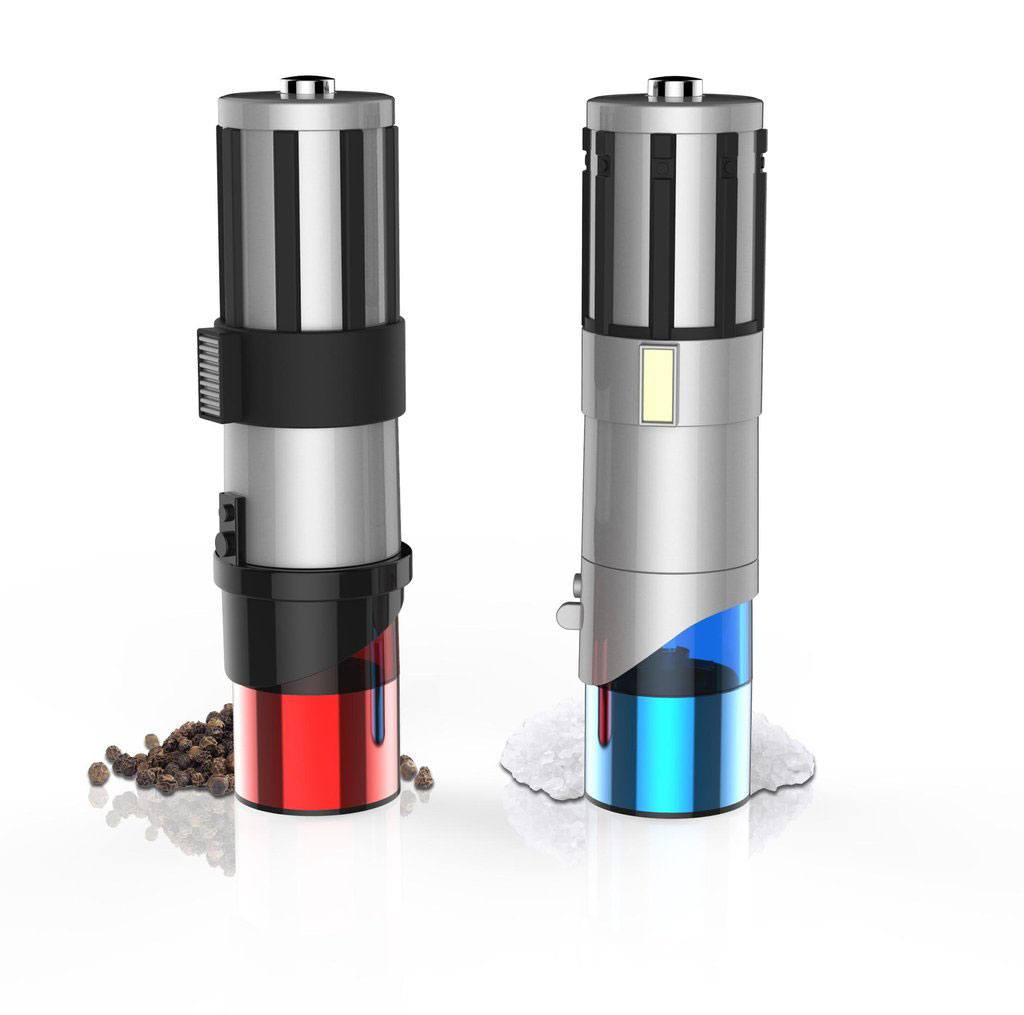 Star Wars Salt & Pepper Mills Lightsaber