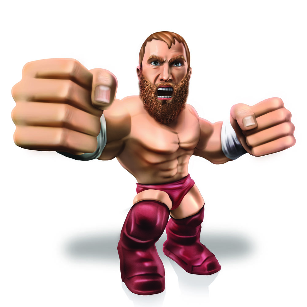 WWE Wrestling Mini Figure Daniel Bryan 8 cm