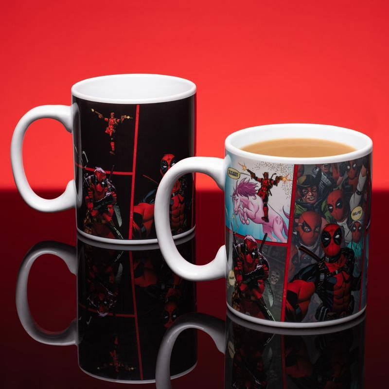 Deadpool Heat Change Mug Iconic Comic