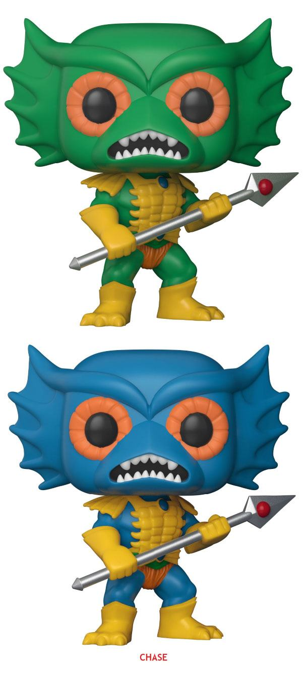 Masters of the Universe POP! Television Figures Merman 9 cm Assortment (6)