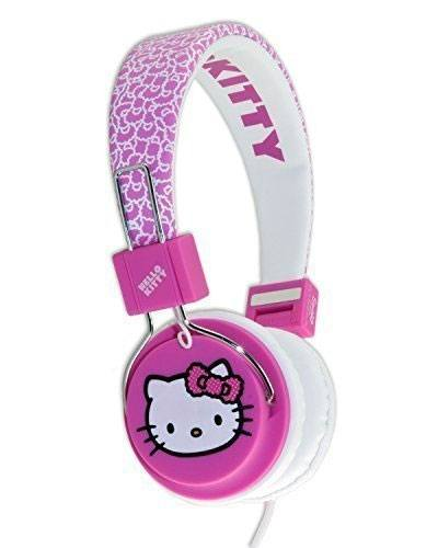 Hello Kitty Teen Headphones Fuzzy Bow
