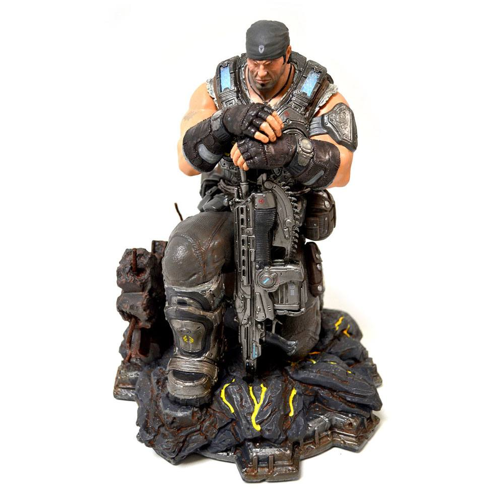 Gears of War 3 Collector's Edition PVC Statue Marcus Fenix 28 cm