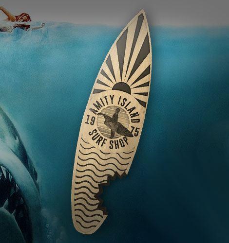 Jaws Bottle Opener Amity Island Surf Shop