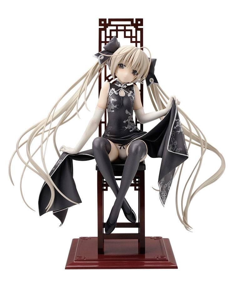 Yosuganosora PVC Statue 1/7 Sora Kasugano Black China Dress Ver. 22 cm --- DAMAGED PACKAGING