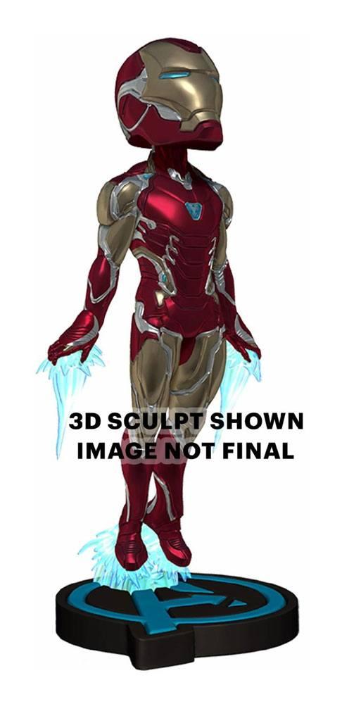 Avengers: Endgame Head Knocker Bobble-Head Iron Man 20 cm