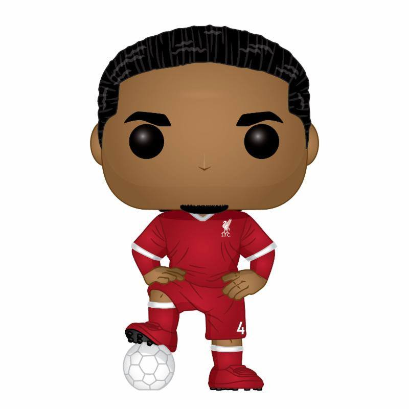 POP! Football Vinyl Figure Virgil van Dijk (LFC) 9 cm