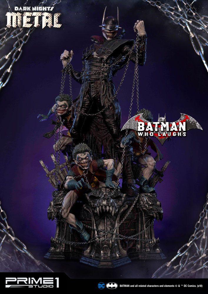 Dark Nights: Metal Statue 1/3 Batman Who Laughs 86 cm