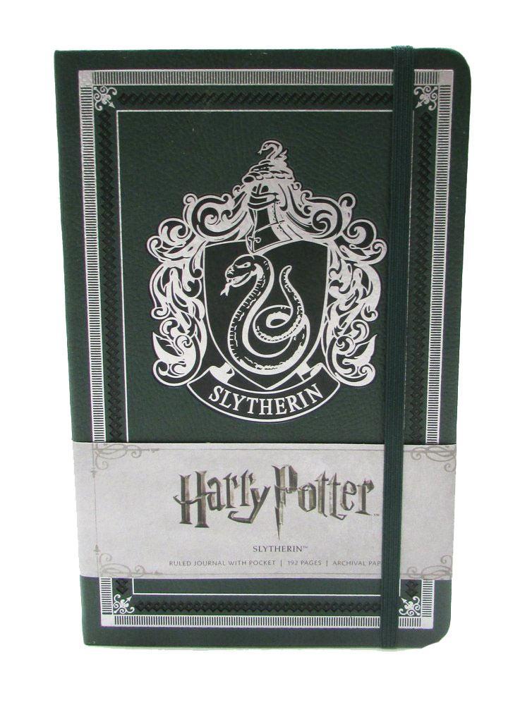 Harry Potter Hardcover Ruled Journal Slytherin