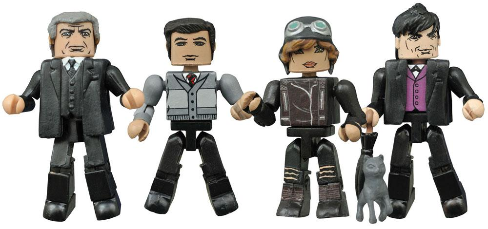 Gotham Minimates Action Figures 5 cm Series 2 Box Set
