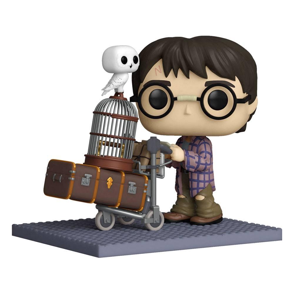 Harry Potter POP! Deluxe Vinyl Figure Harry Pushing Trolley 9 cm