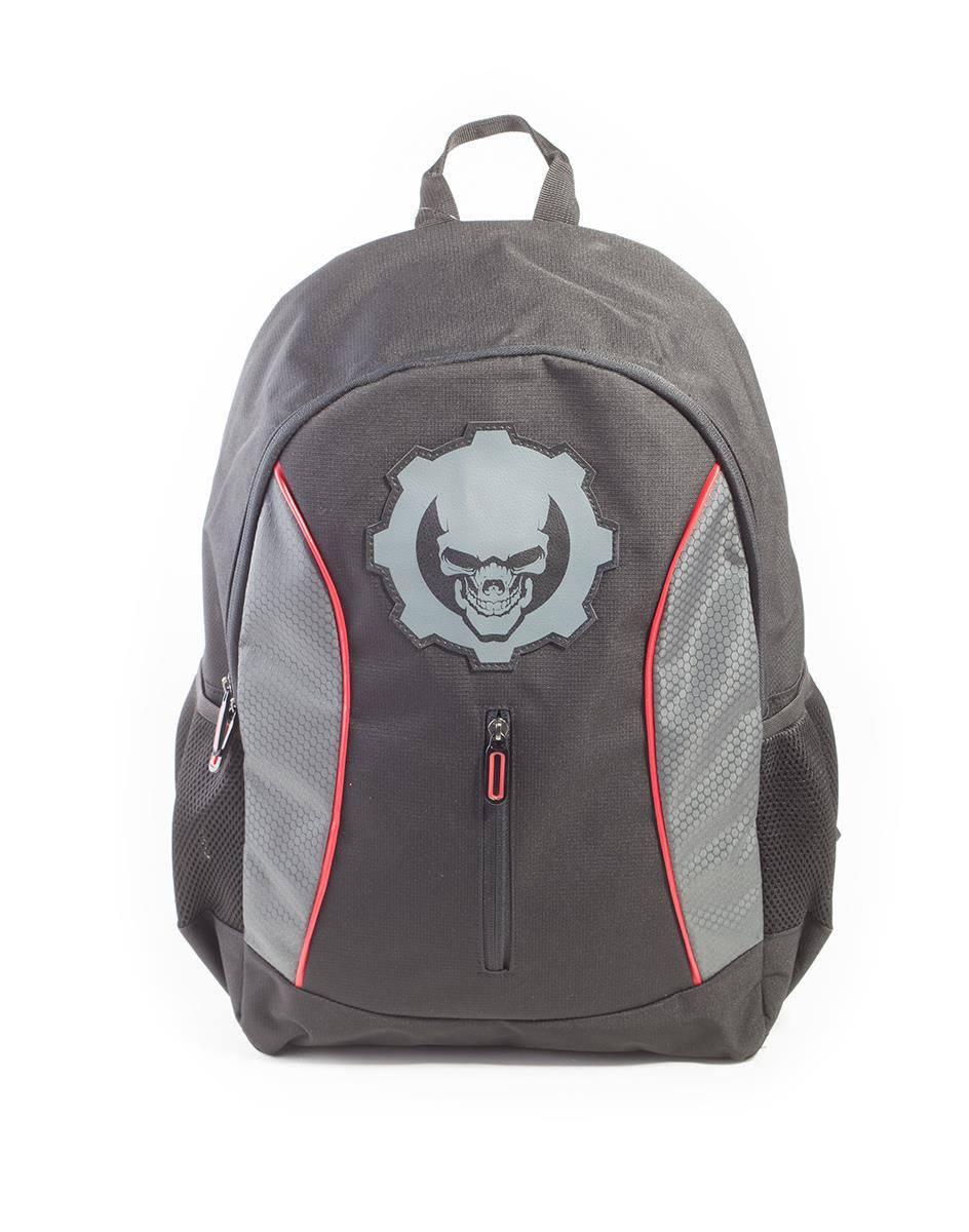 Gears Of War Backpack Black Skull