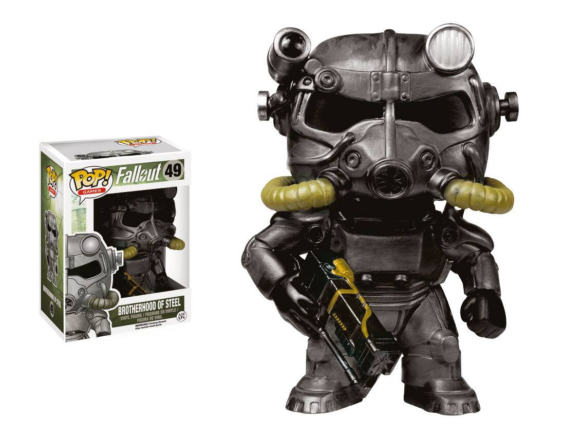 Fallout POP! Games Vinyl Figure Power Armor (Brotherhood of Steel) 9 cm