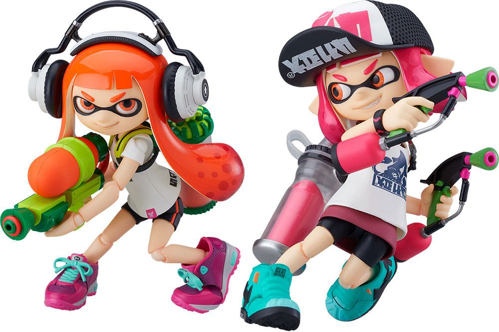 Splatoon / Splatoon 2 Figma Action Figures Splatoon Girl 10 cm