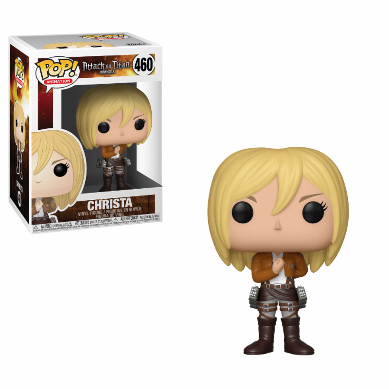 Attack on Titan POP! Animation Vinyl Figure Christa 9 cm