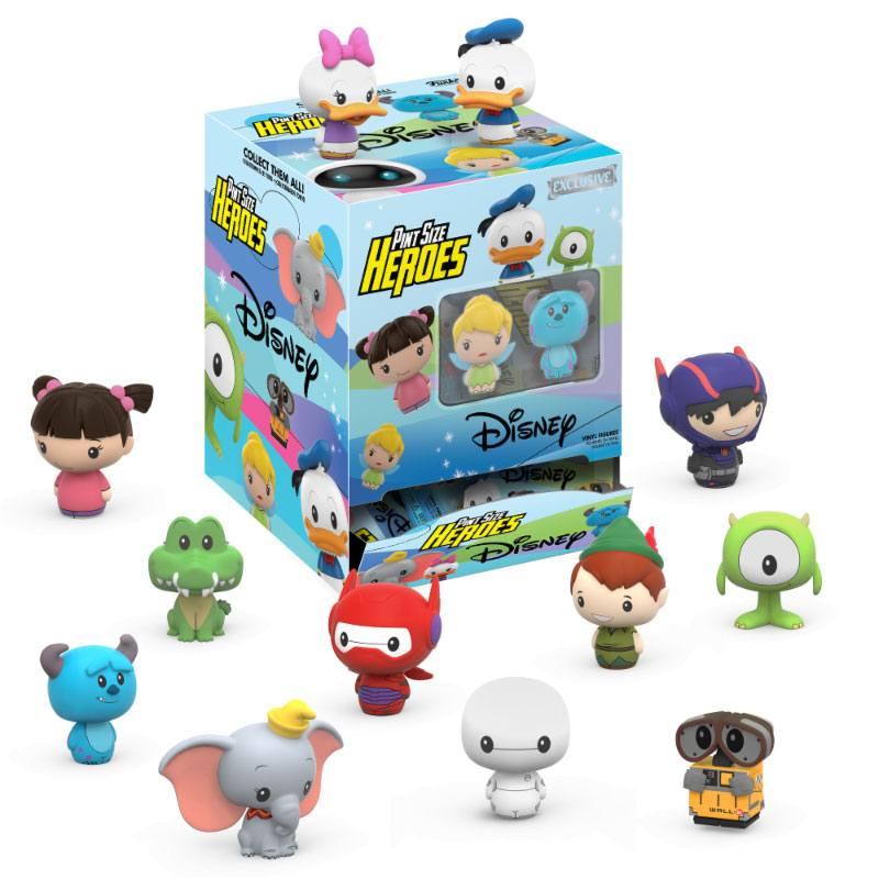 Disney Pint Size Heroes Mini Figures 6 cm Display (24)